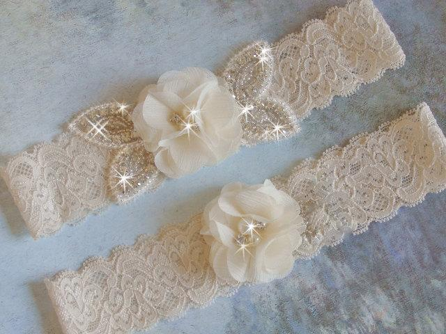 ddda291e256 Color Choice Wedding Garter Set