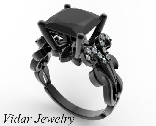 Custom Skull Engagement Ring Box