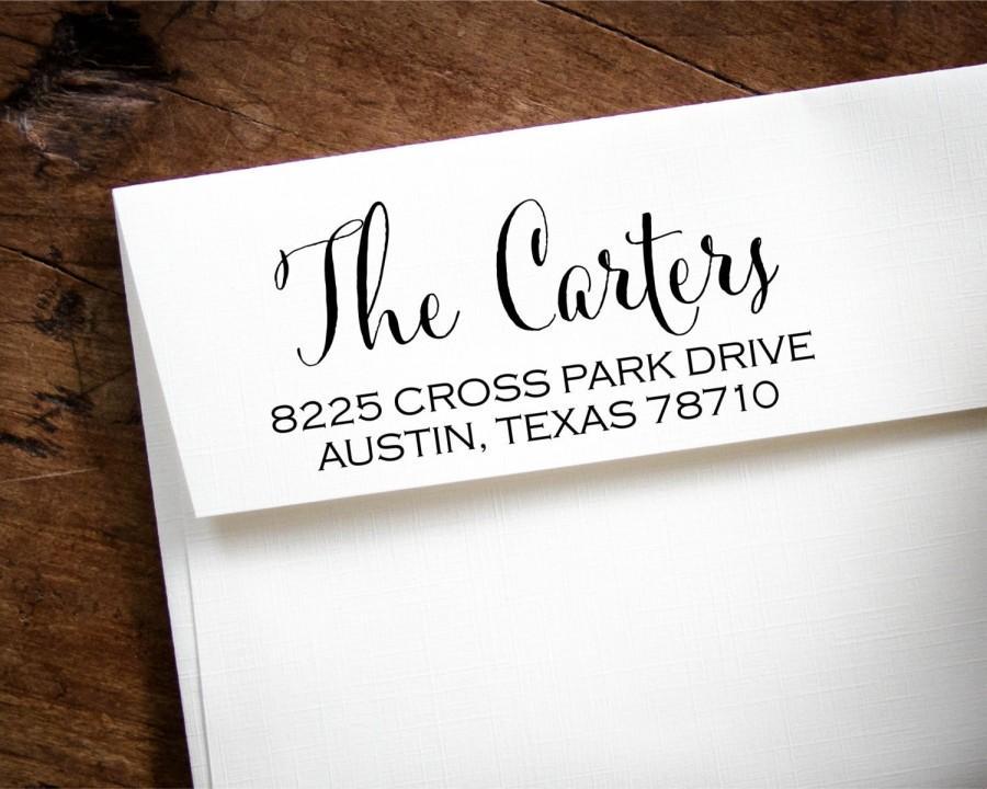Wedding - Self-Inking Address Stamp, Custom Address Stamp, Custom Stamp, Custom Rubber Stamp, Personalized Stamp, Return Address Stamp, RSVP Cards
