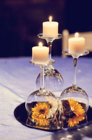 Свадьба - 26 Adorable DIY Wedding Centerpieces