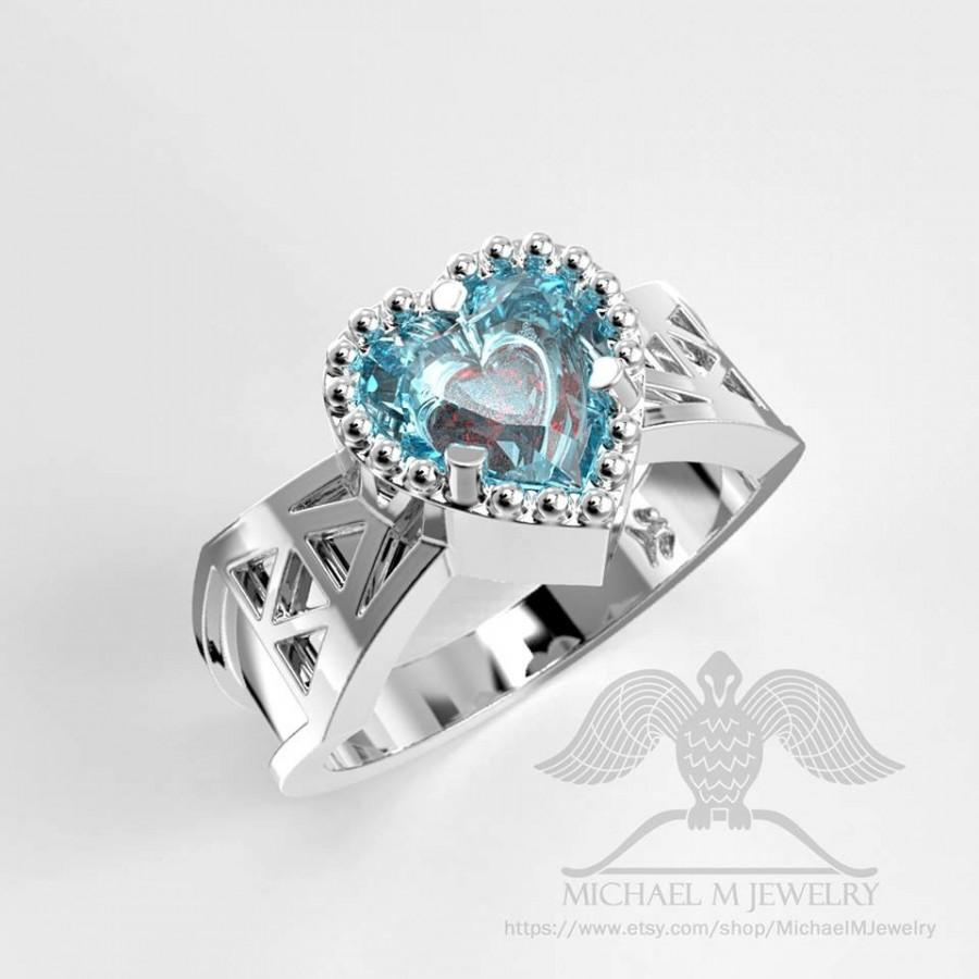 Double Heart Container Triforce Ring Custommade Handmade Made