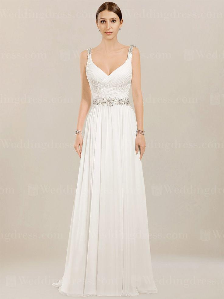 Dress chiffon beach wedding dress bc952 2415051 weddbook for Beach chiffon wedding dress