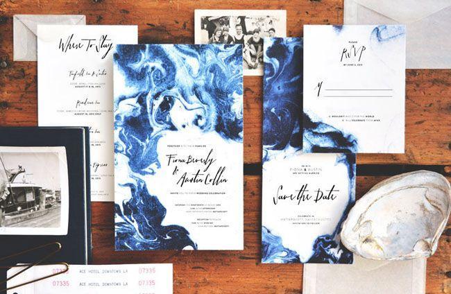 Hochzeit - Beautiful Wedding Stationery From August & Osceola