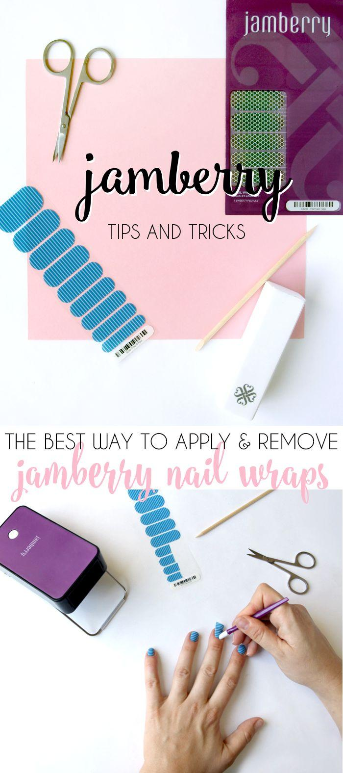 زفاف - Jamberry Nail Wrap Tips & Tricks