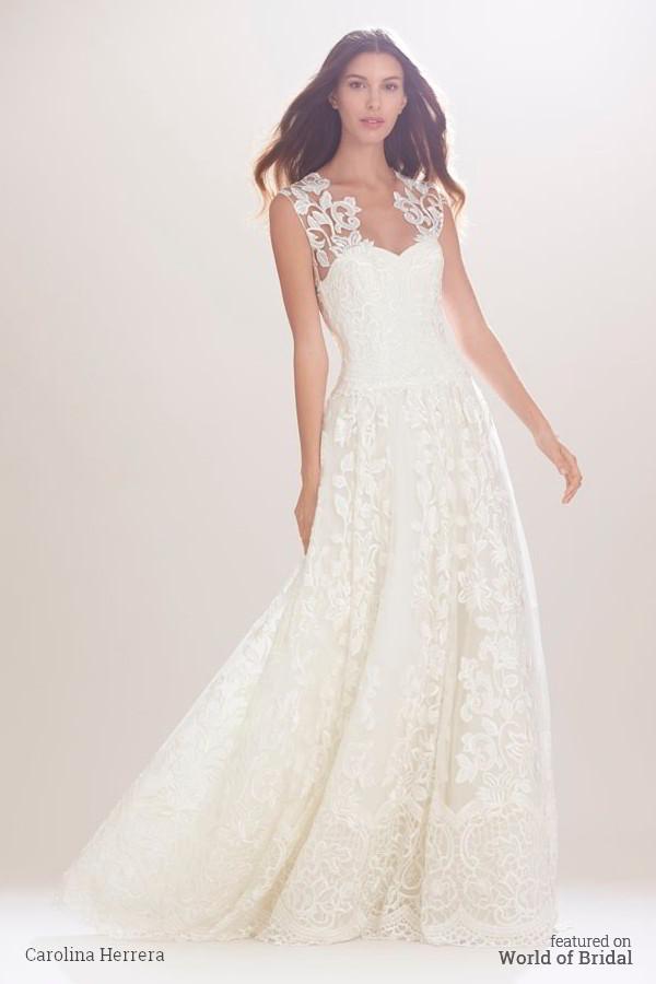 Carolina herrera bridal fall 2016 wedding dresses 2415732 for Wedding dresses house of brides