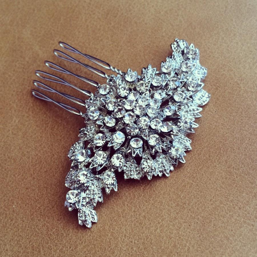 زفاف - Rhinestone Wedding Haircomb