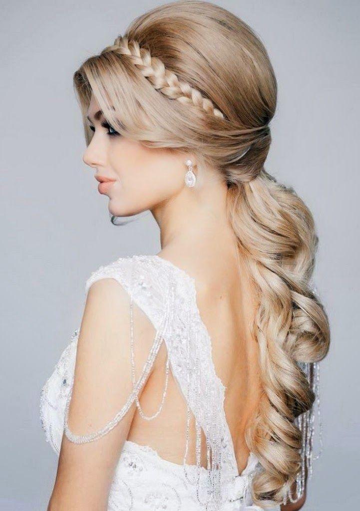 زفاف - 20 Gorgeous Bridal Hairstyle And Makeup Ideas For 2015
