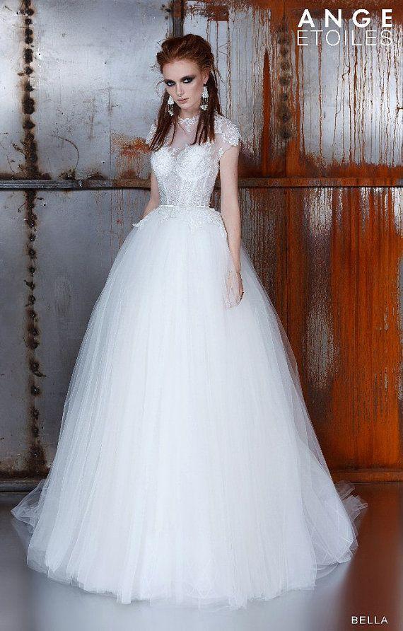 unique tulle bridesmaid dresses