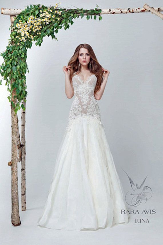 زفاف - Mermaid Wedding Dress LUNA, Wedding Dress, Sexy Wedding Dress, Lace Wedding Dresses, Bridal Dress, Lace Wedding Gown, Lace Dress