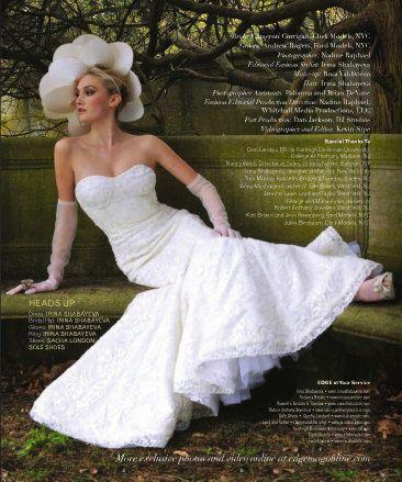 زفاف - Irina Shabayeva Beaded French Lace Mermaid Wedding Gown