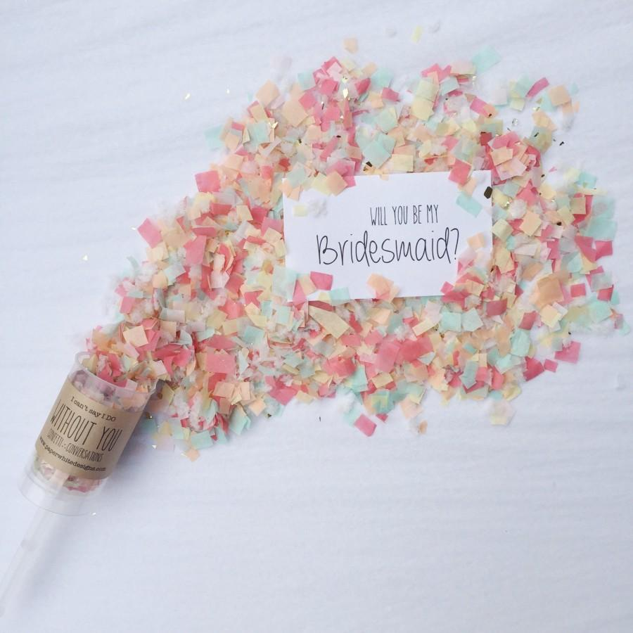 Mariage - The Original Will You Be My Bridesmaid? Confetti Conversations