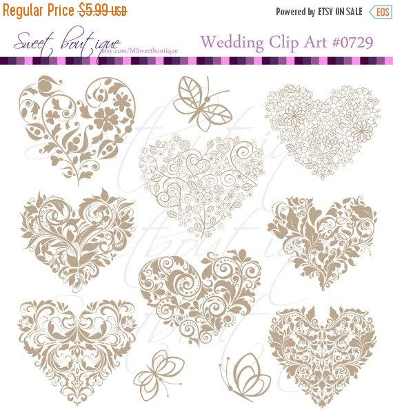free wedding scrapbook clipart - photo #46