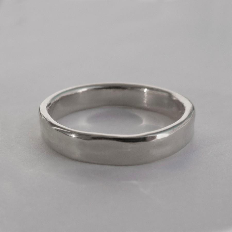 simple gold wedding band 14k white gold ring white