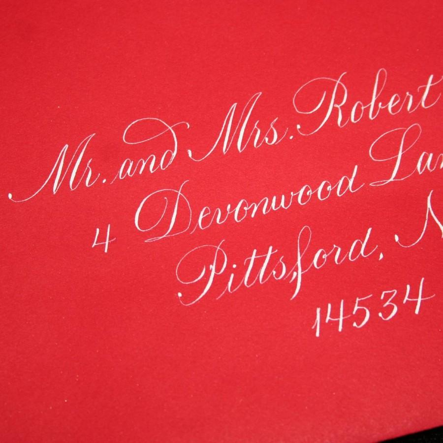 Calligraphy Envelope Addressing, Wedding Calligraphy By Hand ...
