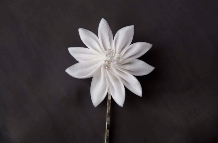 1 white silk flower wedding hair clip edelweiss 2416952 weddbook 1 white silk flower wedding hair clip edelweiss mightylinksfo