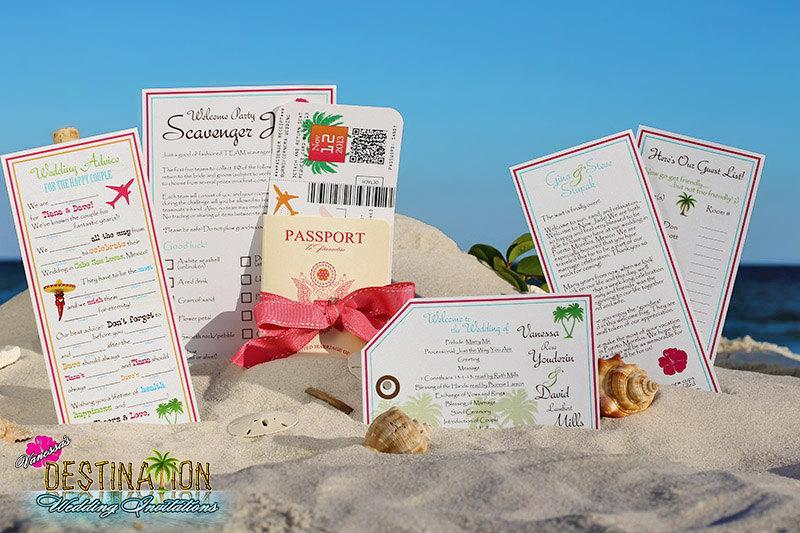 vanessa s destination wedding invitations diy champagne cover