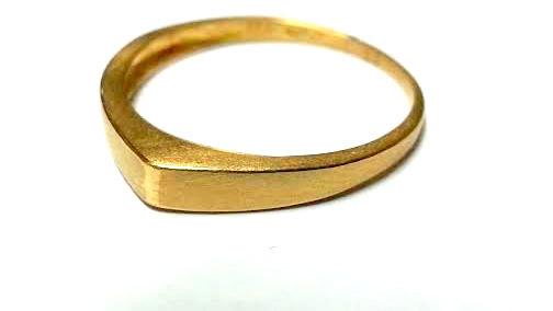 زفاف - Thin Wedding ring Unique wedding ring Gold Ring Gold Wedding Band Handmade ring Geometrical ring Eco Friendly Jewelry Solid gold ring Unique