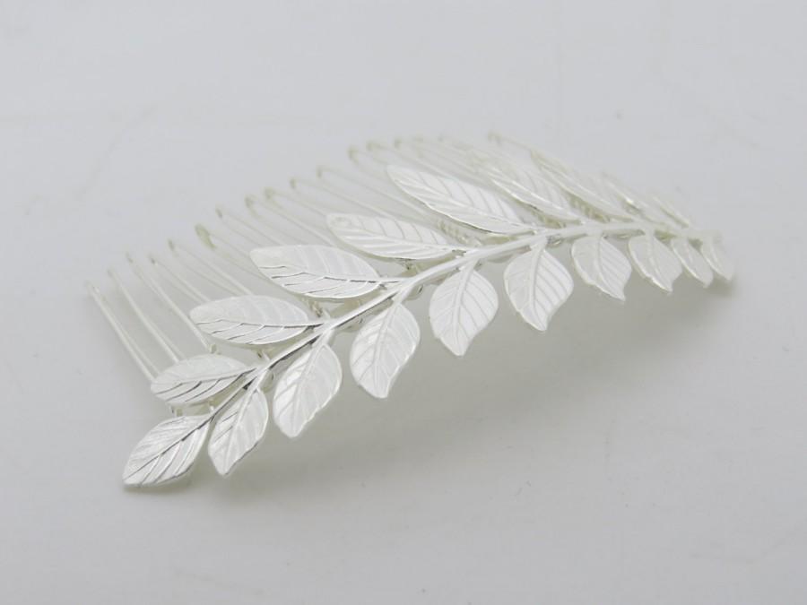 Mariage - leaf hair comb , SALE!  bridal hair accessories , bridal hair comb , Greek Branch Hair Comb , Wedding Hair Accessories, gold leaf hair