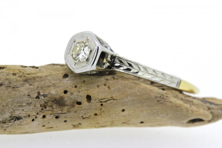 deco ring engagement ring vintage ring antique