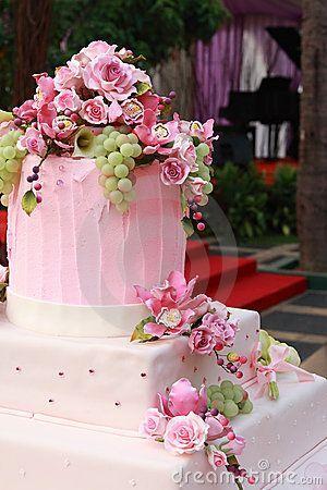 Wedding - Multi Layered Wedding Cake