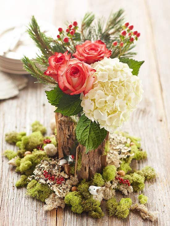 simple christmas centerpieces - Simple Christmas Centerpieces