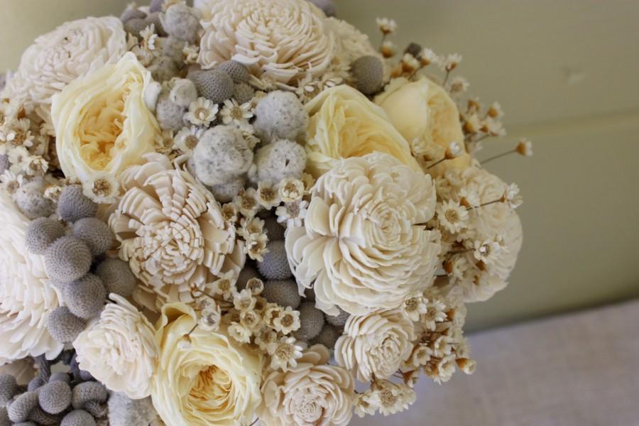Hochzeit - Buttercream Bridal Bouquet