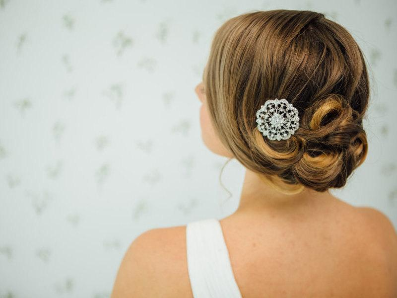 Mariage - Bridal Rhinestone Hair Comb