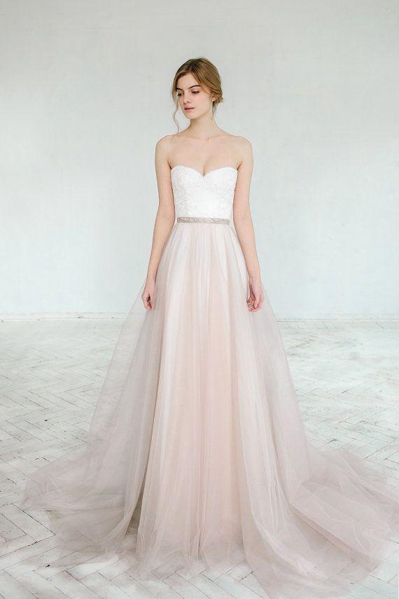 Wedding Theme - Blush Wedding Gown // Dahlia // 2 Pieces #2418463 ...