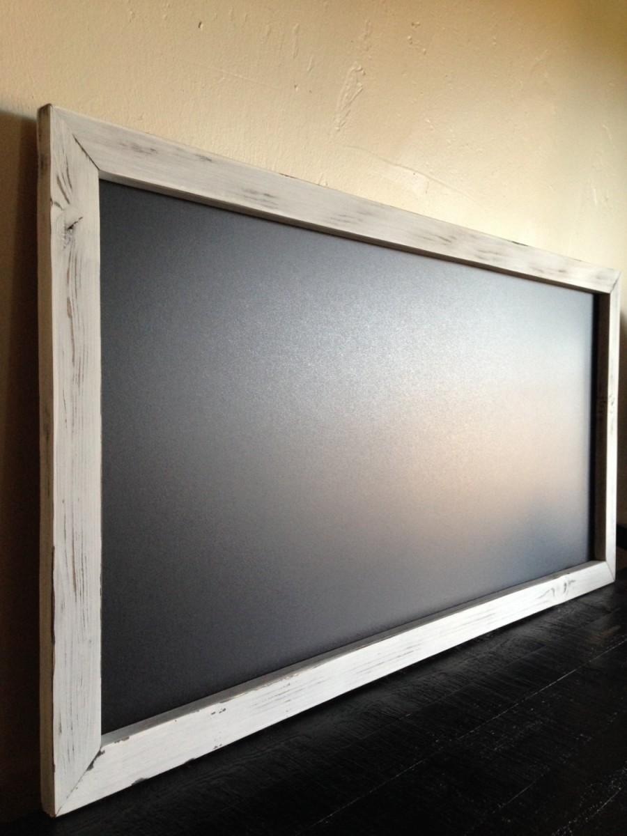 Rustic Kitchen Chalkboard 18 x36  Reclaimed Wood Wedding Chalkboard Large Chalkboard Menu Chalkboard Pregnancy Chalkboard Chalk Board & Rustic Kitchen Chalkboard 18