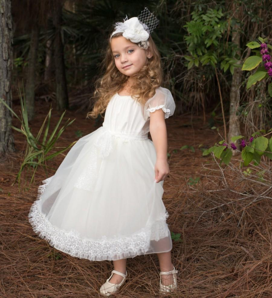 White Lace Dress Country Girl