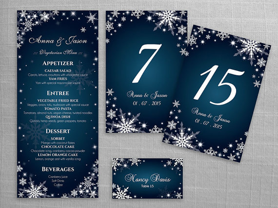 Wedding - 15%  OFF - DIY Printable Wedding Table Package Deal Templates