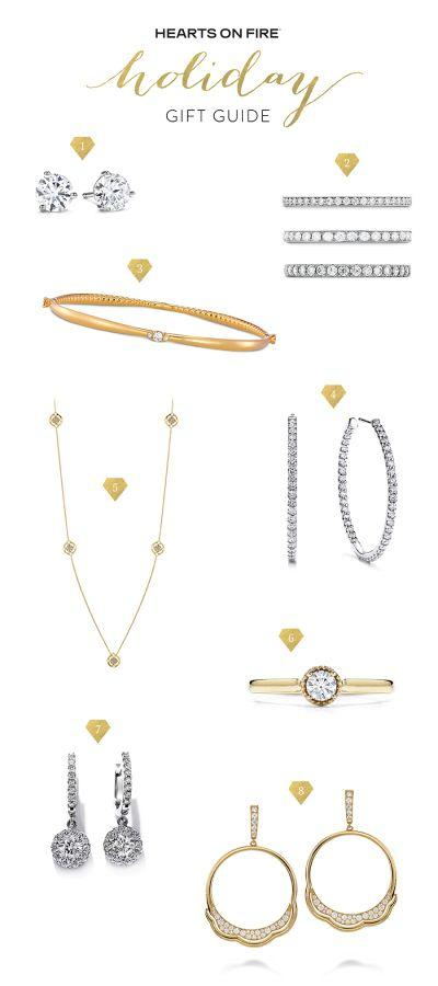 Hochzeit - Hearts On Fire Holiday Gift Guide