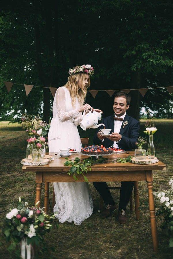 Wedding - Nature-Inspired Polish Wedding At Gorzelnia 505