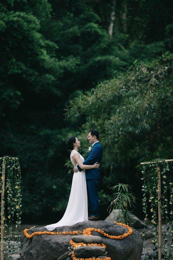 Wedding - Tropical Bali Wedding At Bambu Indah