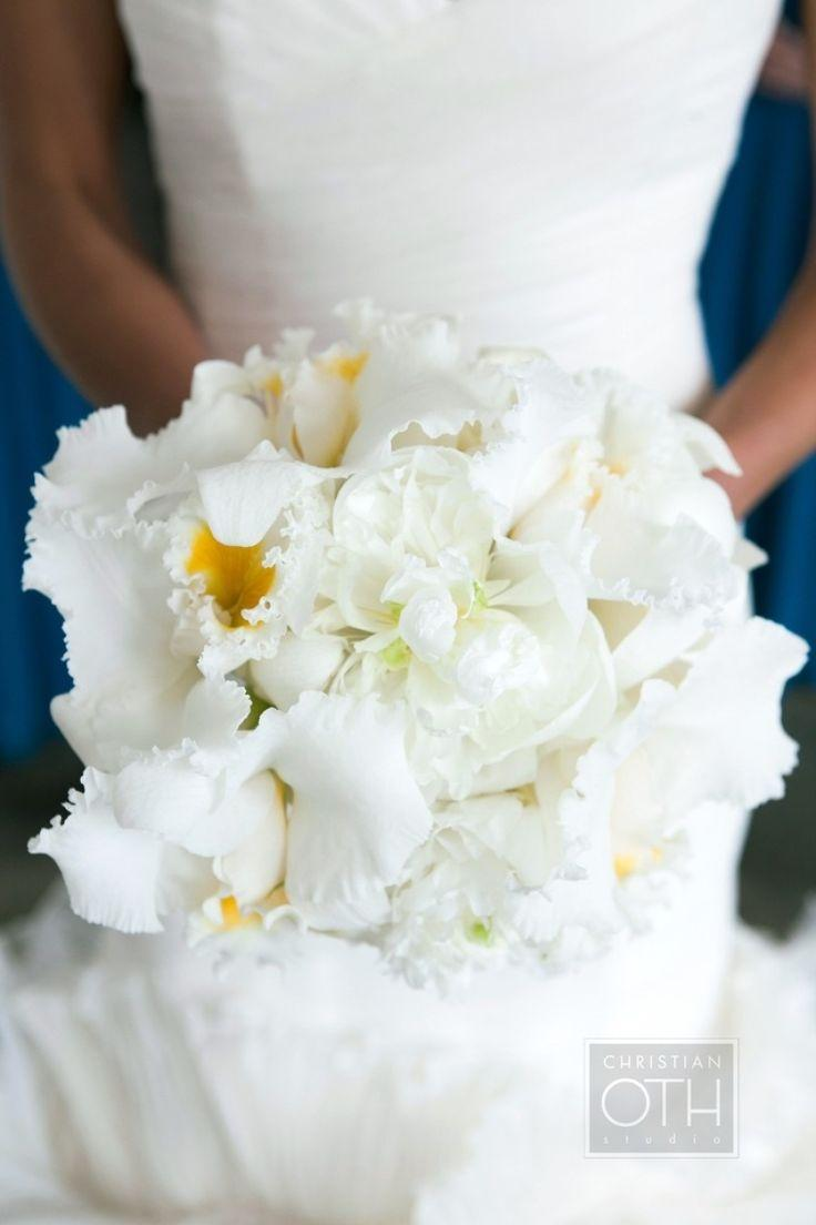 Wedding - Inspired By: Sofia Vergara's Glamorous White Orchid Bouquet