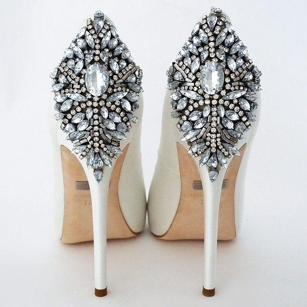 Wedding - Badgley Mischka Kiara Wedding Shoes, White