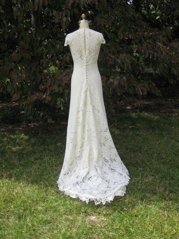 Hochzeit - Reserved Listing For Heathery Balance Due On Custom Dress Art Deco Hippie