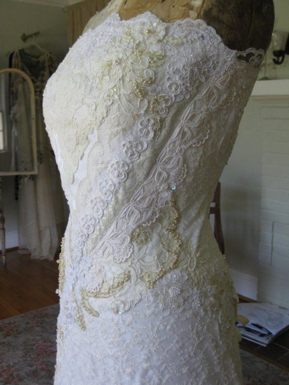 Mariage - Balance On Custom Lace Gown For David1sf