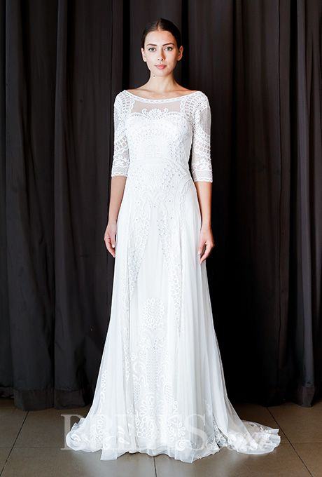 Düğün - Temperley Wedding Dresses - Spring 2016 - Bridal Runway Shows - Brides.com