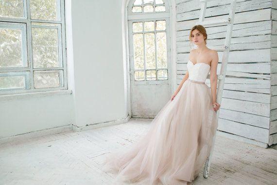 Habiller Blush Wedding Gown Dahlia 2 Pieces 2419212 Weddbook
