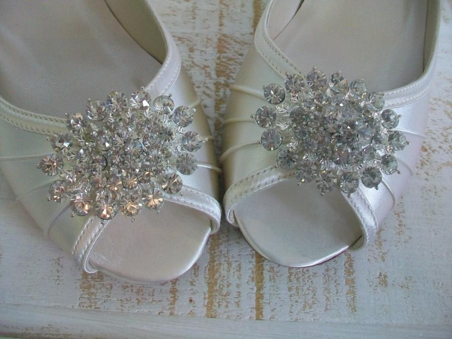 Boda - Wedge Wedding Shoes - Choose From Over 200 Colors - 1 Inch Wedge Heel - Wide Size Available - Low Heel Wedge Wedding Shoe - Outdoor Wedding