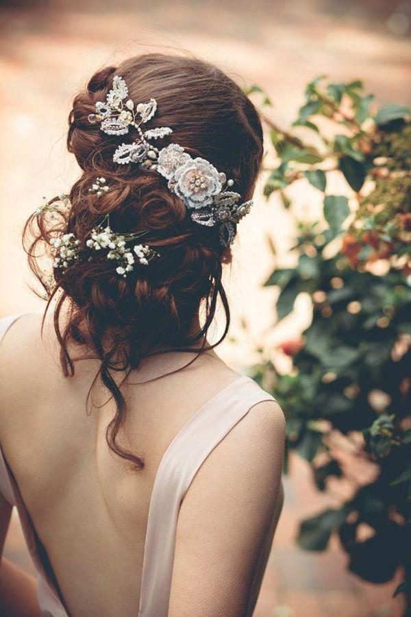 Свадьба - Top 20 Bridal Headpieces For Your Wedding Hairstyles