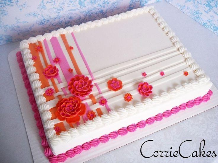 cake wedding sheet cake bridal shower 2419880 weddbook. Black Bedroom Furniture Sets. Home Design Ideas