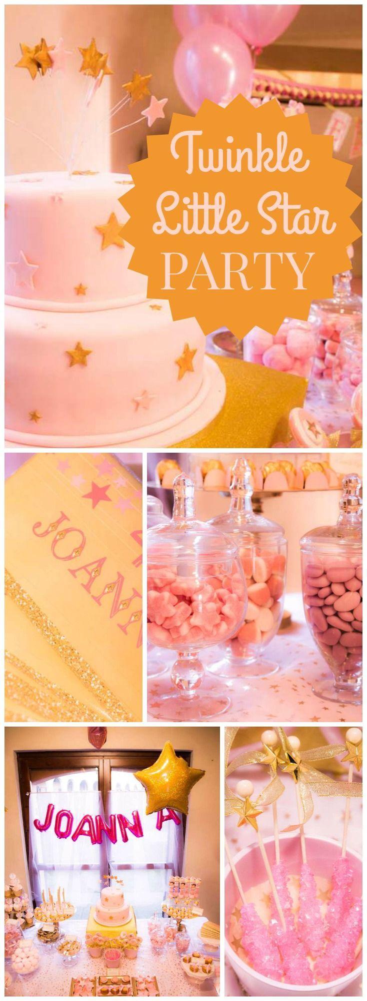 """Свадьба - Twinkle Twinkle Little Star / Birthday """"Joanna's Twinkle Twinkle Little Star Party"""""""
