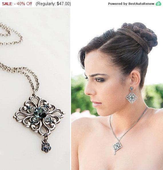 Свадьба - 40% SALE Art deco jewelry, Art deco necklace, Art deco wedding, Art deco bridal jewelry, Bridal jewelry, Art deco bridal necklace, Bridal...