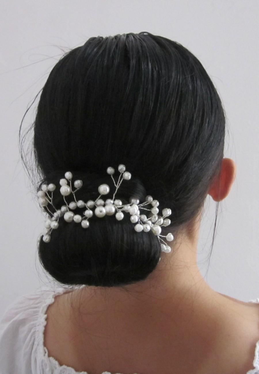 Свадьба - Bridal Tiara, Beautiful handmade Tiara, headband,hairband ,tiara with beautiful  beads