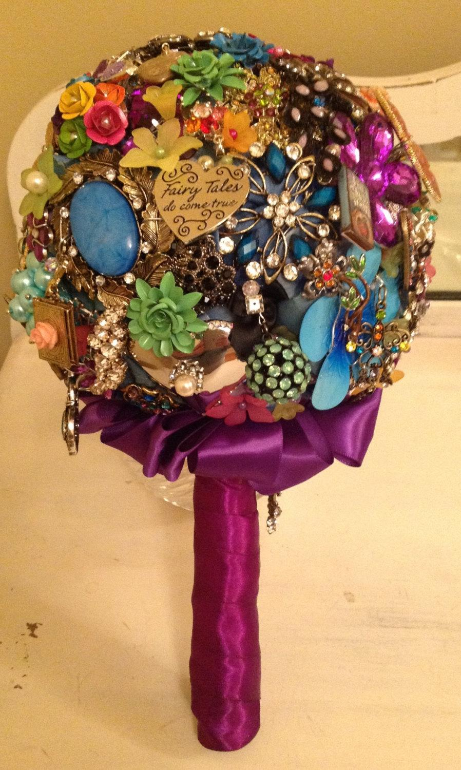 Mariage - Tell Your Story & Carry A Custom Brooch Bouquet