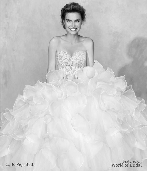 Wedding - Carlo Pignatelli Couture 2016 Wedding Dresses