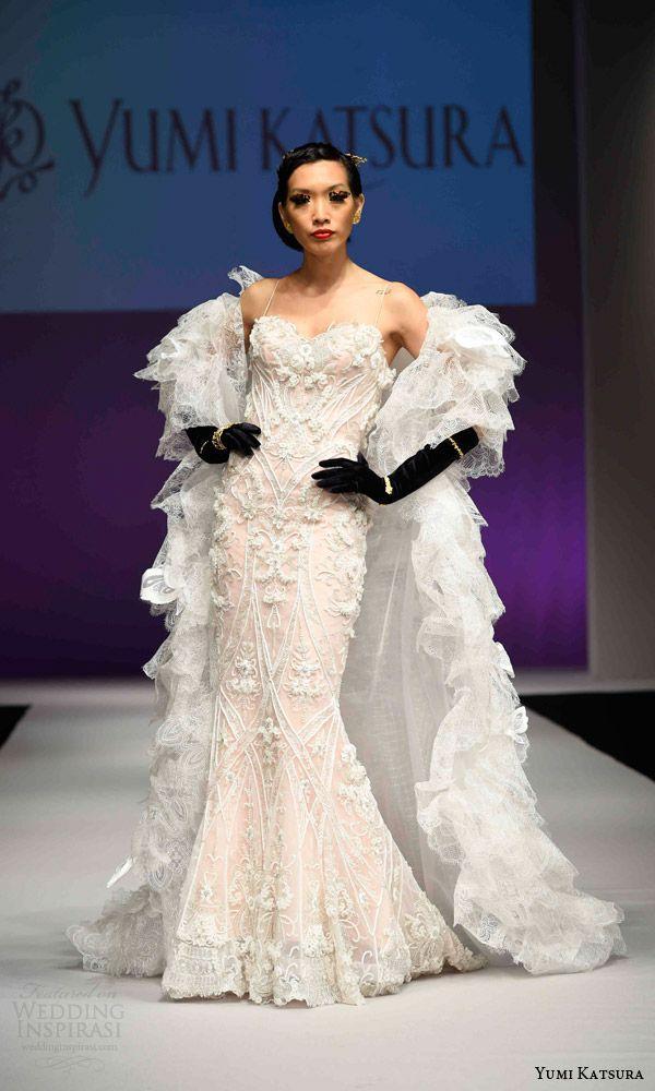 Yumi Katsura Fall 2016 Wedding Dresses — 50th Anniversary Golden ...