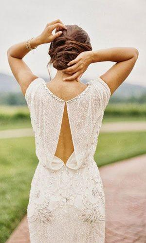 The 35 Most Beautiful Bedazzled Wedding Dresses #2420398 - Weddbook